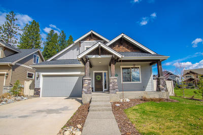 Coeur D'alene Single Family Home For Sale: 2389 W Moselle Dr