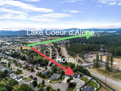 Coeur D'alene Single Family Home For Sale: 2174 W Shawna Ave