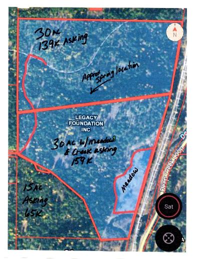 Residential Lots & Land For Sale: 74.5 Ac Round Mountain Rd Rd