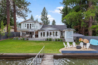 Coeur D'alene Single Family Home For Sale: 6251 W Harbor Dr