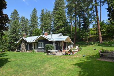 Bonners Ferry Single Family Home For Sale: 6451 Washington St