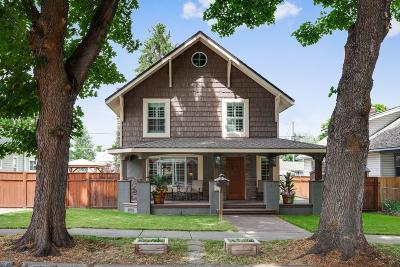Coeur D'alene Single Family Home For Sale: 1219 E Front Ave
