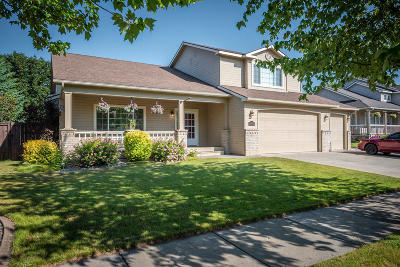 Coeur D'alene Single Family Home For Sale: 5815 N Stafford Rd