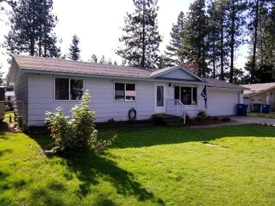Hauser Lake, Post Falls Single Family Home For Sale: 2111 N Lincoln St