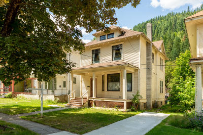 Shoshone County Single Family Home For Sale: 508 First St