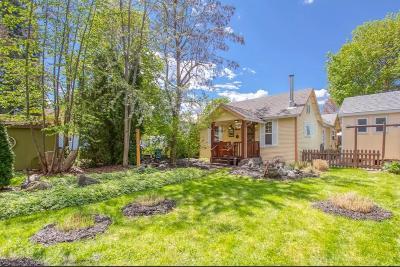 Coeur D'alene Single Family Home For Sale: 919 N B St