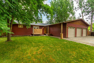 Coeur D'alene Single Family Home For Sale: 1135 E Oak Ct