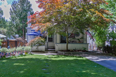 Coeur D'alene Single Family Home For Sale: 325 N Park Dr