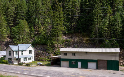 Shoshone County Single Family Home For Sale: 5420 Burke Rd