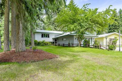 Coeur D'alene Single Family Home For Sale: 5763 N Pleasant Way