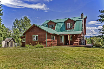 Sandpoint Single Family Home For Sale: 3291 Selkirk Rd.