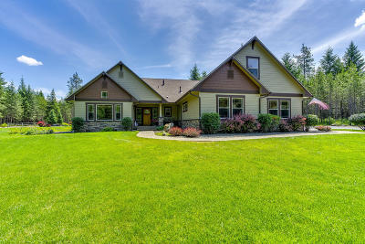 Rathdrum Single Family Home For Sale: 18812 N Ramsey Rd