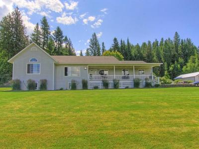 Bonners Ferry Single Family Home For Sale: 6735 Labrosse Hill St