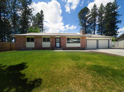 Coeur D'alene Single Family Home For Sale: 3629 W Hillcrest Cir