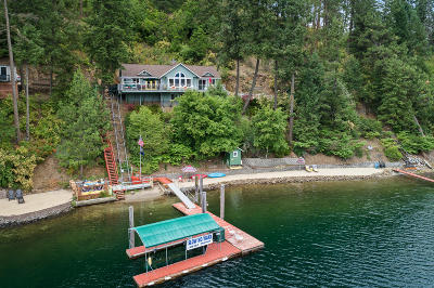 Harrison Single Family Home For Sale: 8459 E Bridger Trl