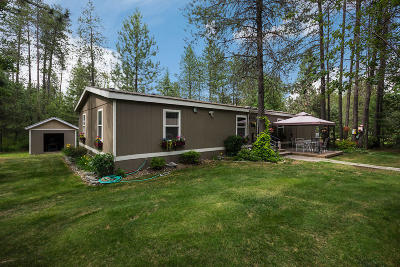 Rathdrum Mobile/Manufactured For Sale: 17188 N Lolo Dr