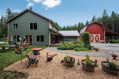 Priest River Single Family Home For Sale: 11305 Spirit Lake Cutoff Rd