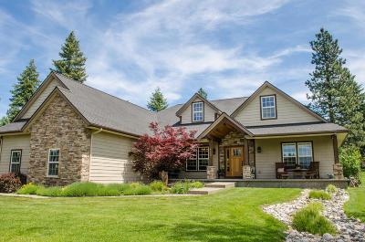 Coeur D'alene Single Family Home For Sale: 4396 S Meadow Lane Dr