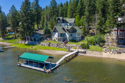 Coeur D'alene Single Family Home For Sale: 3750-3776 S Westway Dr