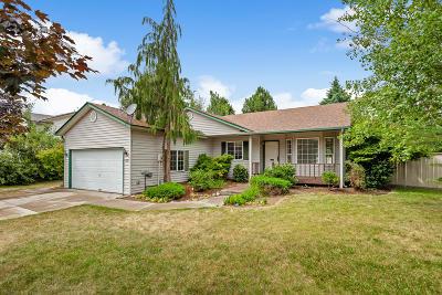 Coeur D'alene Single Family Home For Sale: 1751 W Hampson Ave
