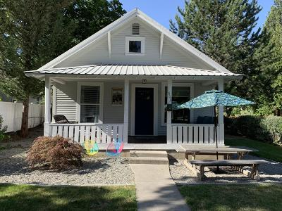 Coeur D'alene Single Family Home For Sale: 603 W Empire Ave