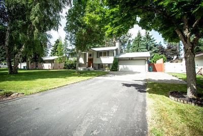 Coeur D'alene Single Family Home For Sale: 5105 N Ezy St