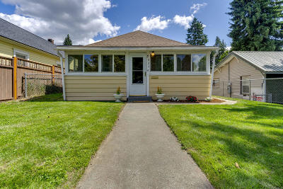 Coeur D'alene Single Family Home For Sale: 826 N 2nd St