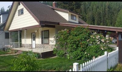 Shoshone County Single Family Home For Sale: 12 Second St