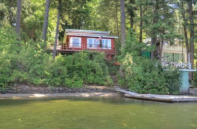 Rathdrum Single Family Home For Sale: 21955 N Dellar Beach Ln