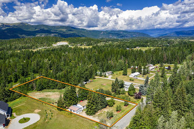 Sandpoint Single Family Home For Sale: 1040 Shingle Mill Rd