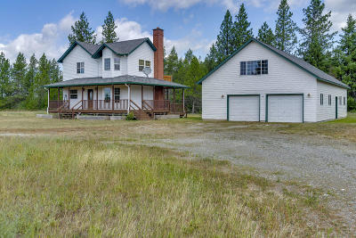Athol Single Family Home For Sale: 11671 E Bunco Rd.