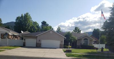 Coeur D'alene Single Family Home For Sale: 3714 N Bitteroot Dr