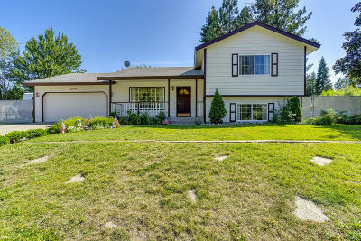 Rathdrum Single Family Home For Sale: 7524 W Crenshaw St