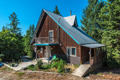 Bonners Ferry Single Family Home For Sale: 638 Foxglove Rd