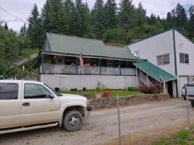 Shoshone County Single Family Home For Sale: 48 Alder Creek Rd