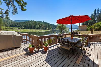 Hayden Single Family Home For Sale: 19489 E Hayden Lake Rd