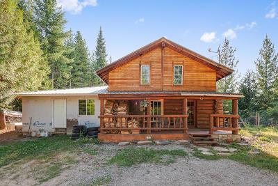 Shoshone County Single Family Home For Sale: 208 Moose Mountain Lane