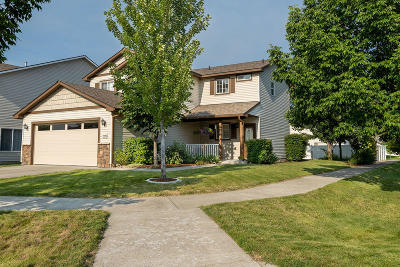 Coeur D'alene Single Family Home For Sale: 7278 N Bedford Ln