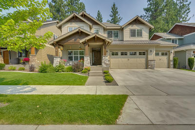 Coeur D'alene Single Family Home For Sale: 2445 W Moselle Dr
