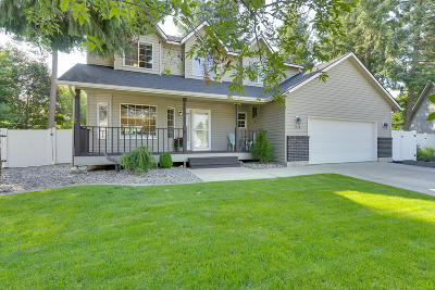 Coeur D'alene ID Single Family Home For Sale: $450,000