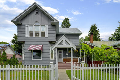 Coeur D'alene Multi Family Home For Sale: 611 E Coeur D Alene Ave