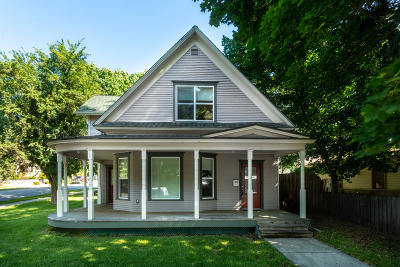 Coeur D'alene Single Family Home For Sale: 303 E Garden Ave