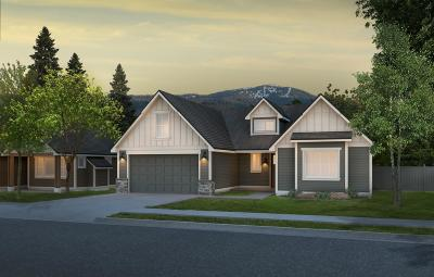 Coeur D'alene Single Family Home For Sale: 4278 W Homeward Bound Blvd
