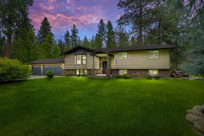 Post Falls Single Family Home For Sale: 3176 E Rivercrest Dr