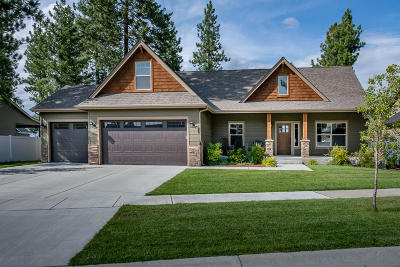 Coeur D'alene Single Family Home For Sale: 1483 W Ashmont Way