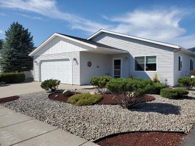 Rathdrum Single Family Home For Sale: 8483 W Sawtooth St