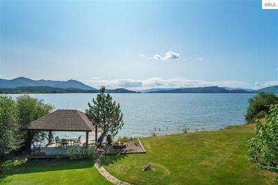 Sandpoint Single Family Home For Sale: 903 Kaniksu Shores Rd