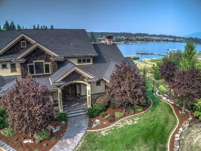 Coeur D'alene Single Family Home For Sale: 584 S Hidden Island Lane