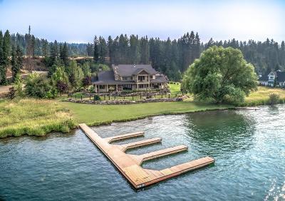 Coeur D'alene Single Family Home For Sale: 584 S Hidden Island Ln