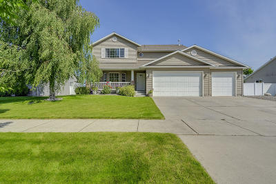 Coeur D'alene Single Family Home For Sale: 4673 W Wirth Dr